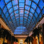 The stunning Palm Court at the Hurlingham Club set the scene for the glittering celebrations