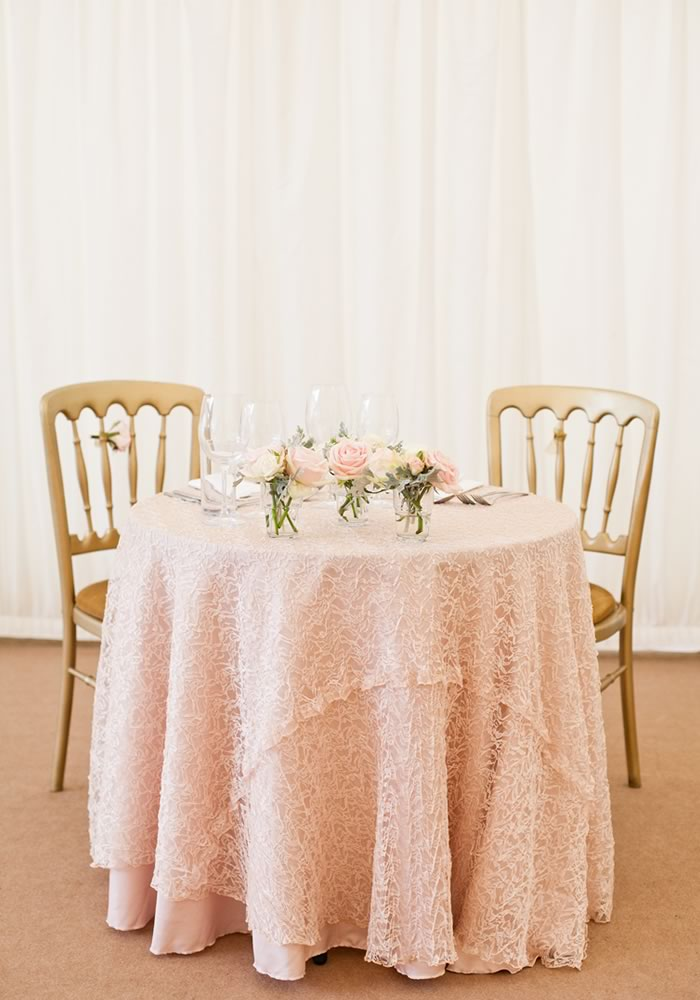 Feminine, glamorous and totally en vogue, blush and gold weddings are more popular than ever. These top details will help make yours stand out...