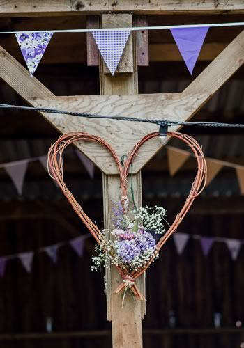 Would you risk getting married outdoors in Great Britain? This couple did, and it was incredible. Be inspired by their garden party theme and DIY ideas...