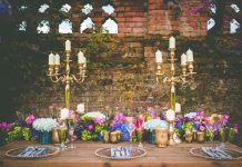 Glamorous, opulent and full of romance, give your wedding day a stylish and grand wow-factor with this opulent jewels decor edit!