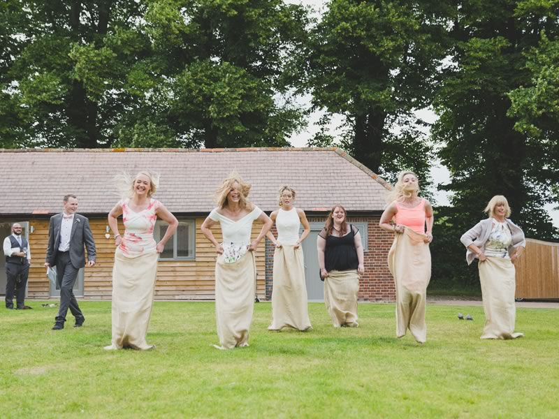 Samantha and Asa pulled off a laid-back outdoor wedding complete with quirky decor, garden games and feel-good food. Now you can too!