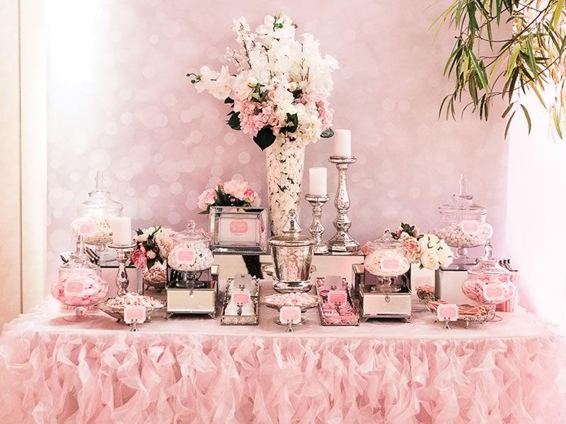 Guests With A Sweet Tooth Will Love You For Creating Sweets Table At Your Reception