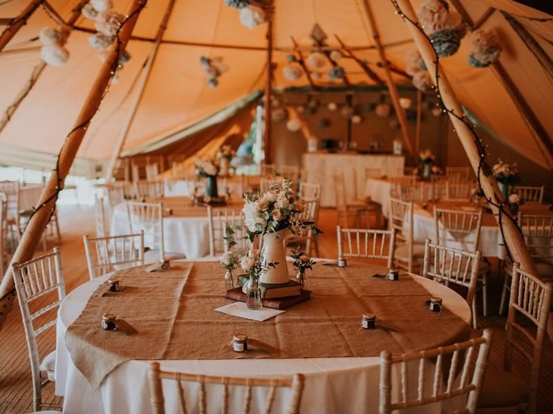 Source The Style Bohemian Tipi Reception Wedding Ideas Magazine