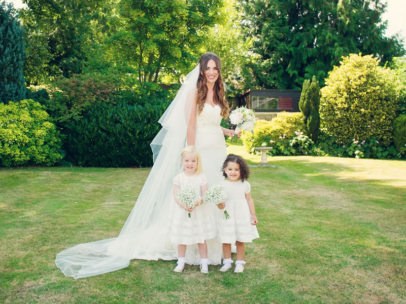 Prepare to change your mind about bridesmaids wearing white - these bridesmaids nailed it, whether you want to channel Greek goddess, glam or festival style
