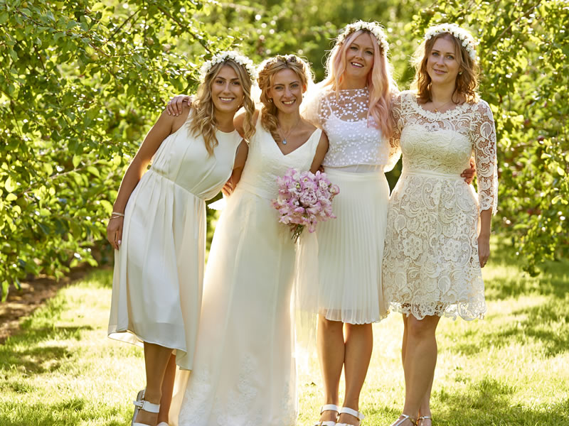 3 Reasons Your Bridesmaids Can Wear White