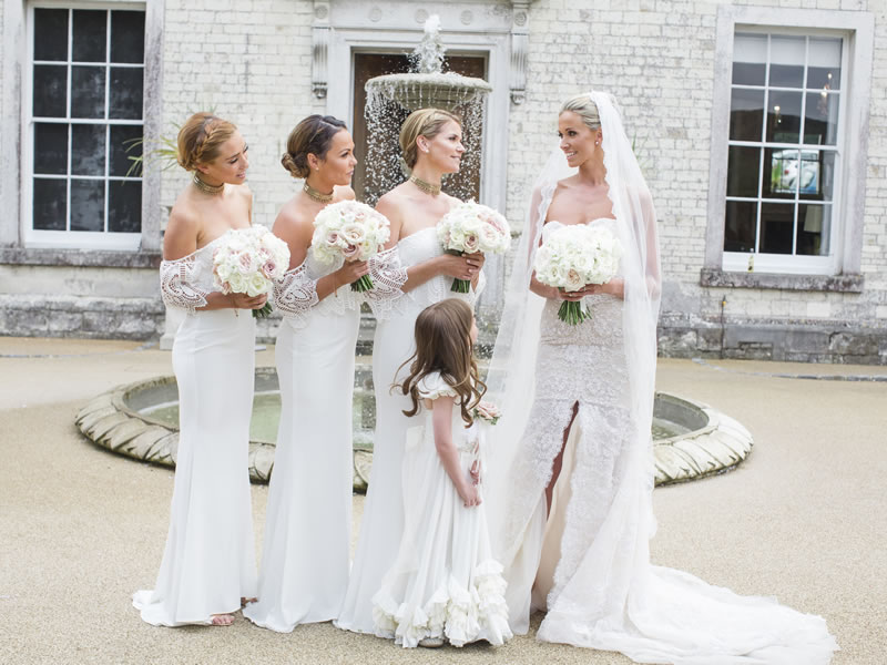 3 reasons your bridesmaids can wear white | Wedding Ideas