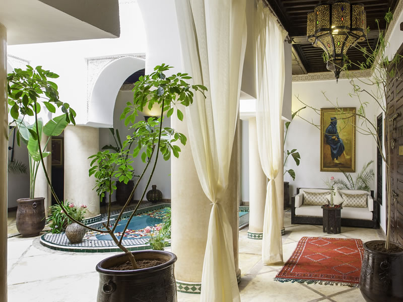 Indulge your every sense in utter luxury with a minimoon to exotic and majestic Marrakech at the angsana riads collection!