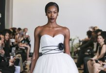 Ever thought about wearing black on your wedding day? At New York Bridal Week 2017 Justin Alexander set the standard for using this bold tone in bridal...