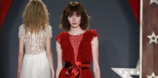Is the white wedding dress becoming a thing of the past? For New York Bridal Week 2017 it's all about red wedding dresses. See more here...