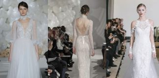 Having a traditional church ceremony but stuck on how to cover up in style? Introducing stylish sleeves showcased on the New York Bridal Week catwalks...