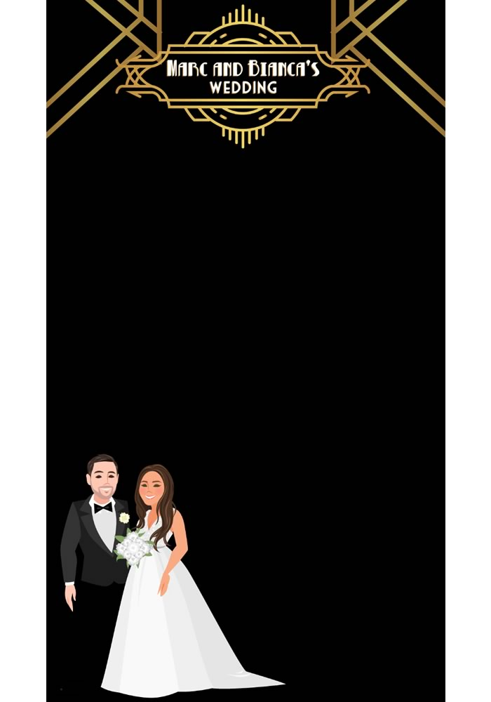 Hands up who wants the photos guests share from your wedding to be the prettiest ever? Then you need a custom Snapchat wedding filter, we tell you how...