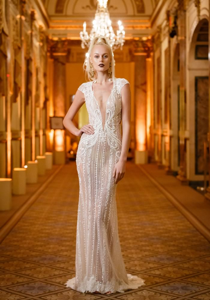 Sweep your groom off his feet with a gown from the 2018 Berta bridal collection, for sexy silhouettes and fashionable styles that are sparklier than ever...