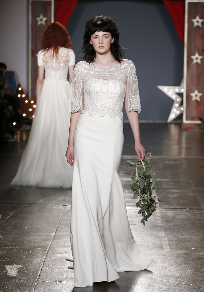 Jenny Packham dresses - iconic for their glitzy, chic and often 1920's inspired designs. We reveal our favourite gowns from the new 2018 collection!