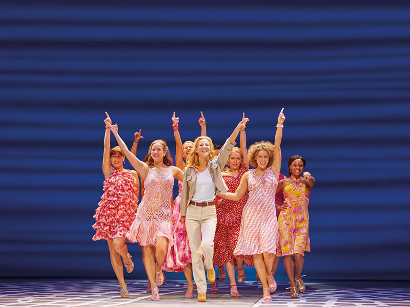 WIN hen party tickets to MAMMA MIA! The ultimate feel-good show for you and your girls including a luxury over night stay, dinner and cocktail masterclass!