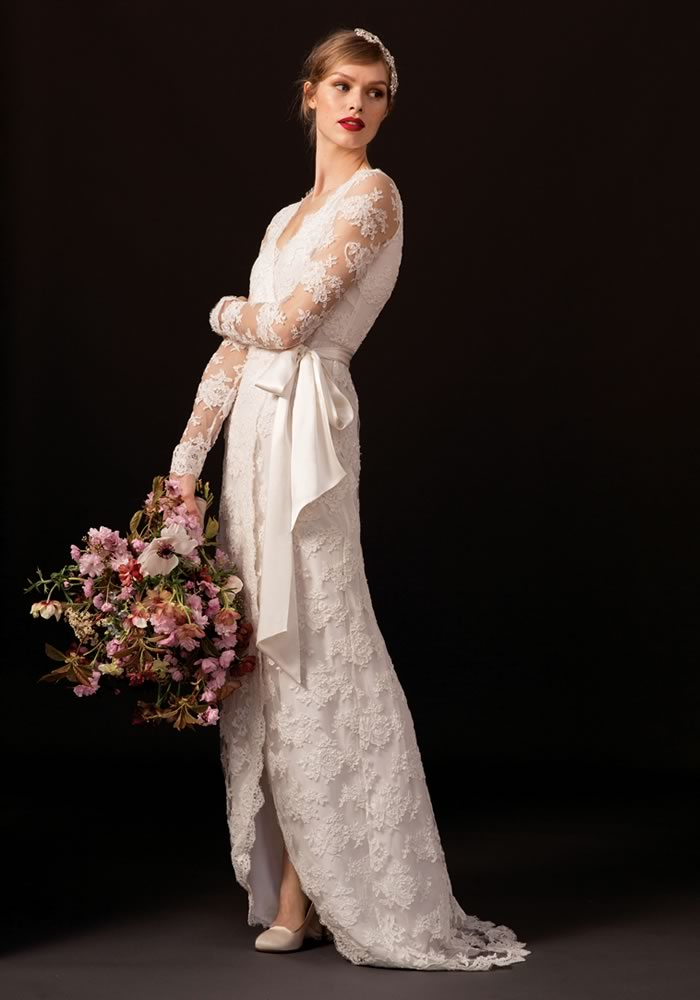 Perfect for the modern bride, you'll find your match made in heaven with a wedding dress from the Dahlia Collection, new from Temperley London