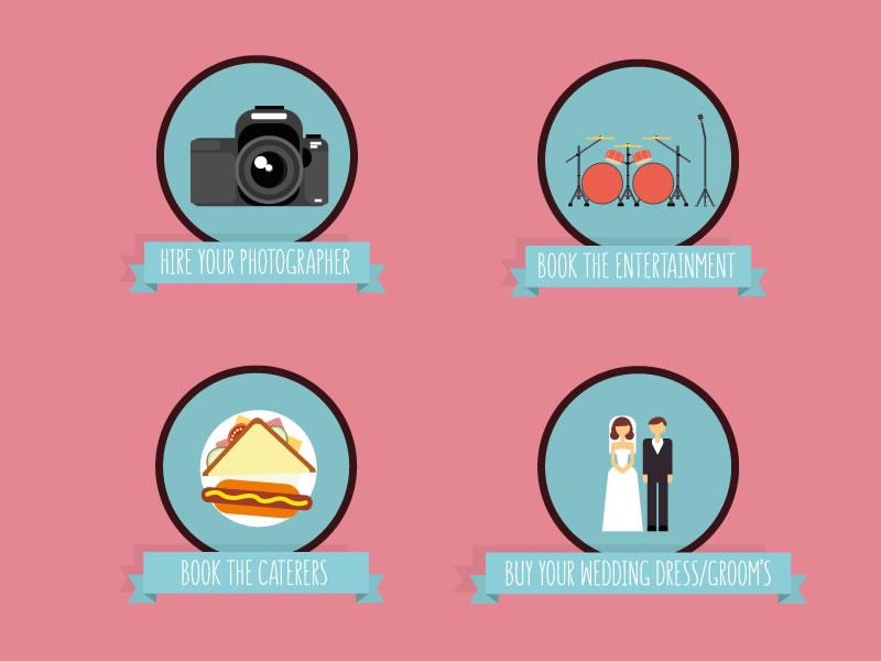 The ultimate wedding planning checklist: Twelve months to go
