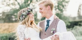 Freyja and Elliot chose a tipi for their vineyard wedding reception. With Pinterest-worthy decor, make it your style bible if you're planning the same!