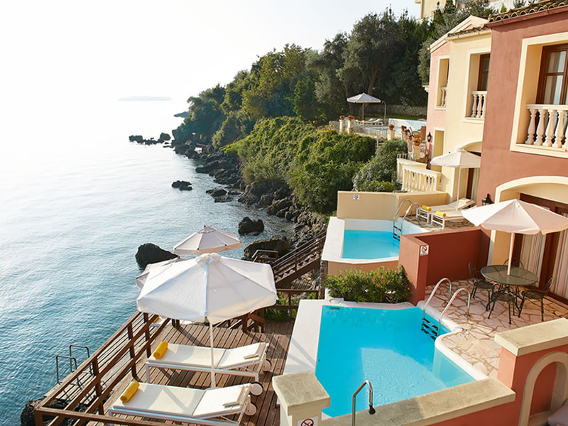 Whether it's a private civil ceremony or a big family event, this wedding hideaway on the island of Corfu will make a timeless setting for the perfect wedding!