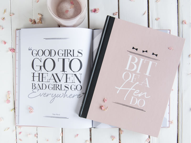 Illustries are giving one lucky bride the chance to win a beautiful wedding planner book, guest book and a hen party book all worth £60!
