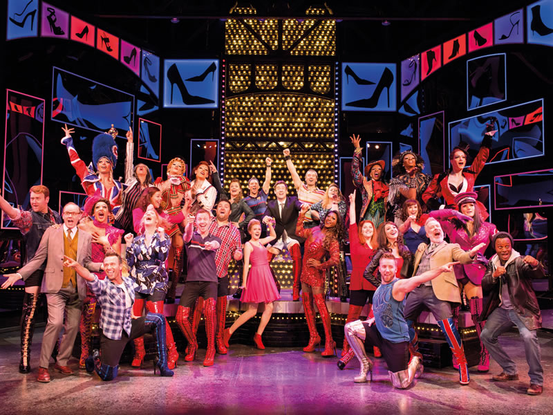 You and your hens could be in with the chance of winning 6 tickets to the award-winning KINKY BOOTS musical in London's glittering West End!