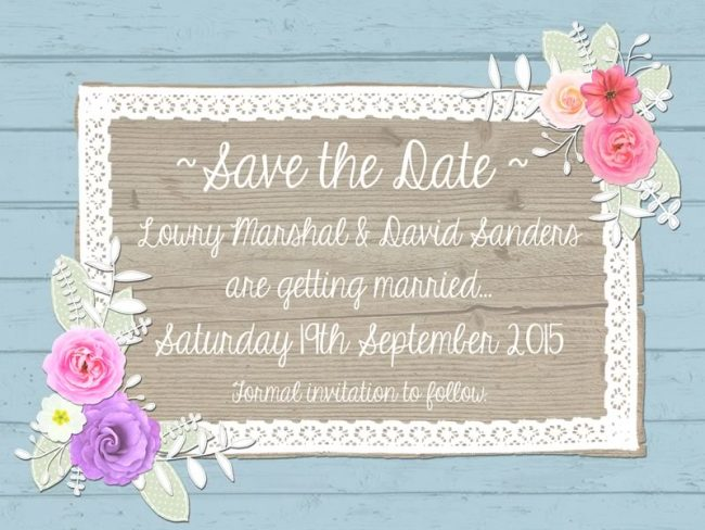 Save The Date Etiquette Guide Wedding