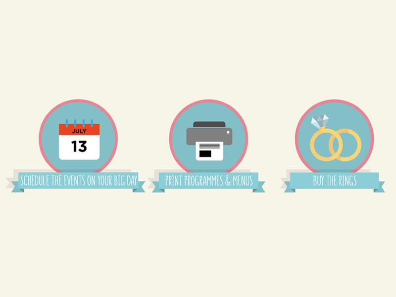 The ultimate wedding planning checklist: Three months to go