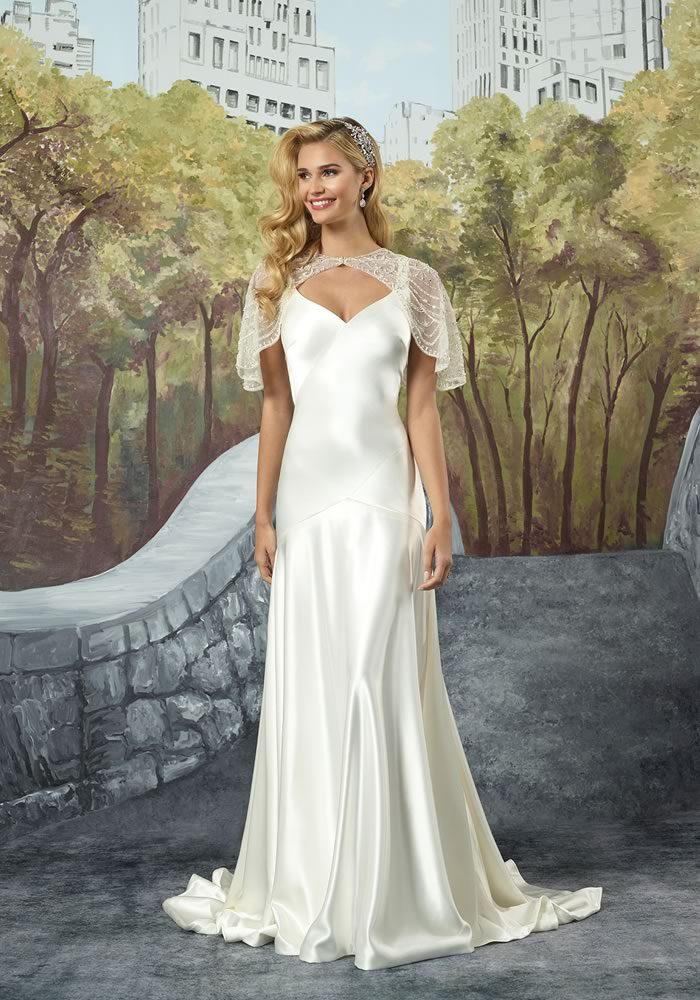 Justin Alexander Collection: Minimalist Wedding Dresses style 8926