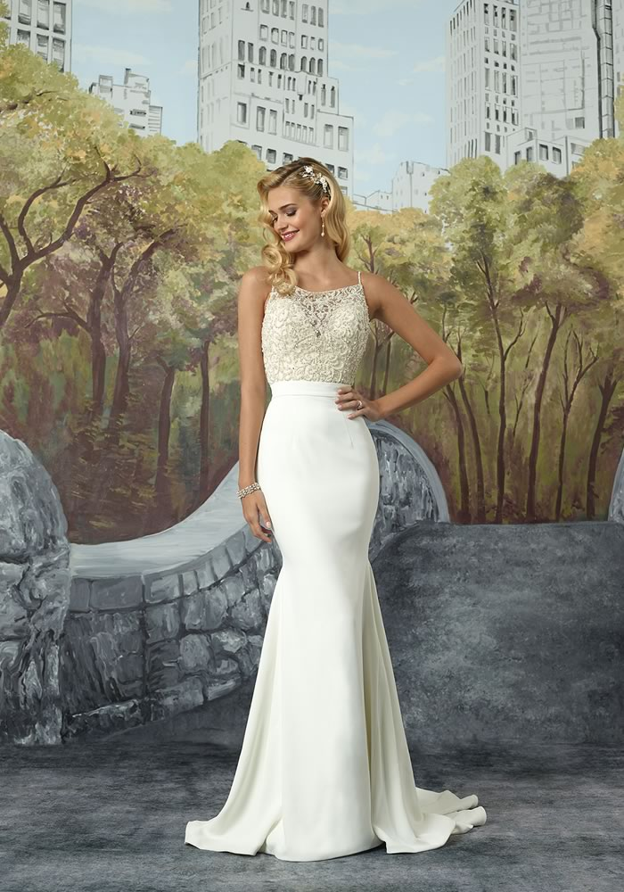 Justin Alexander Collection: Minimalist Wedding Dresses style 8935