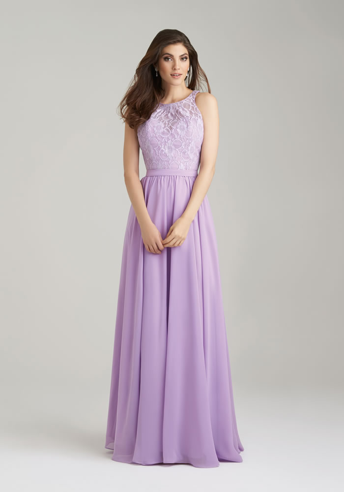 Allure Bridal: Lilac bridesmaids dresses