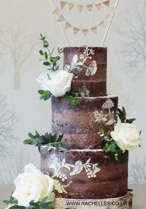 When World Chocolate Day rolls around, we'll be the first in line to celebrate! Get your wedding cake ideas here with these chocolate wedding cakes