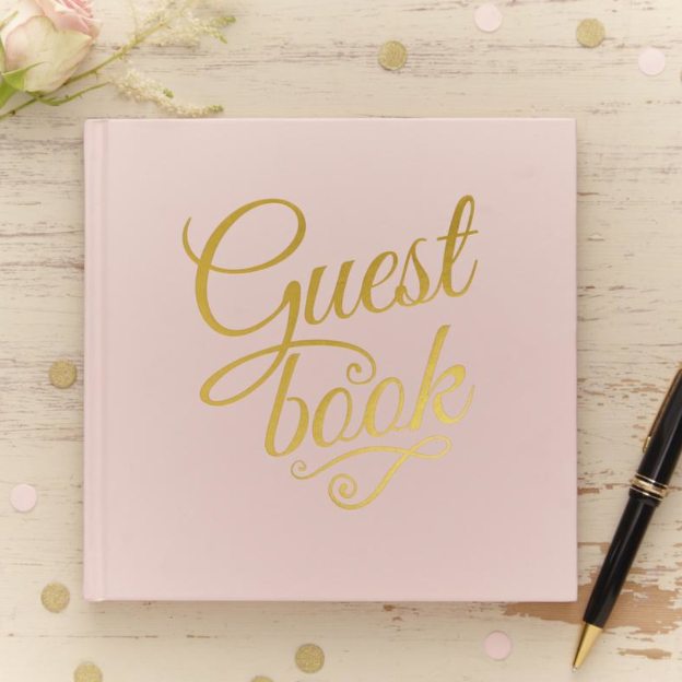 GoldFoiledGuestBook