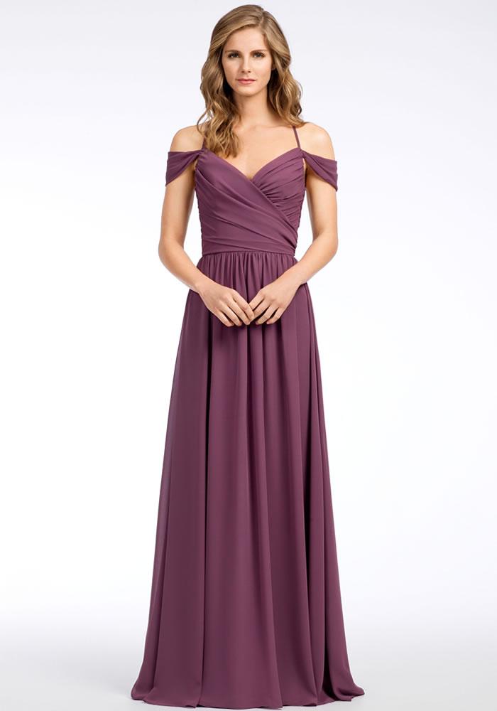 Beautiful Mauve And Lilac Bridesmaids Dresses Wedding Ideas Magazine