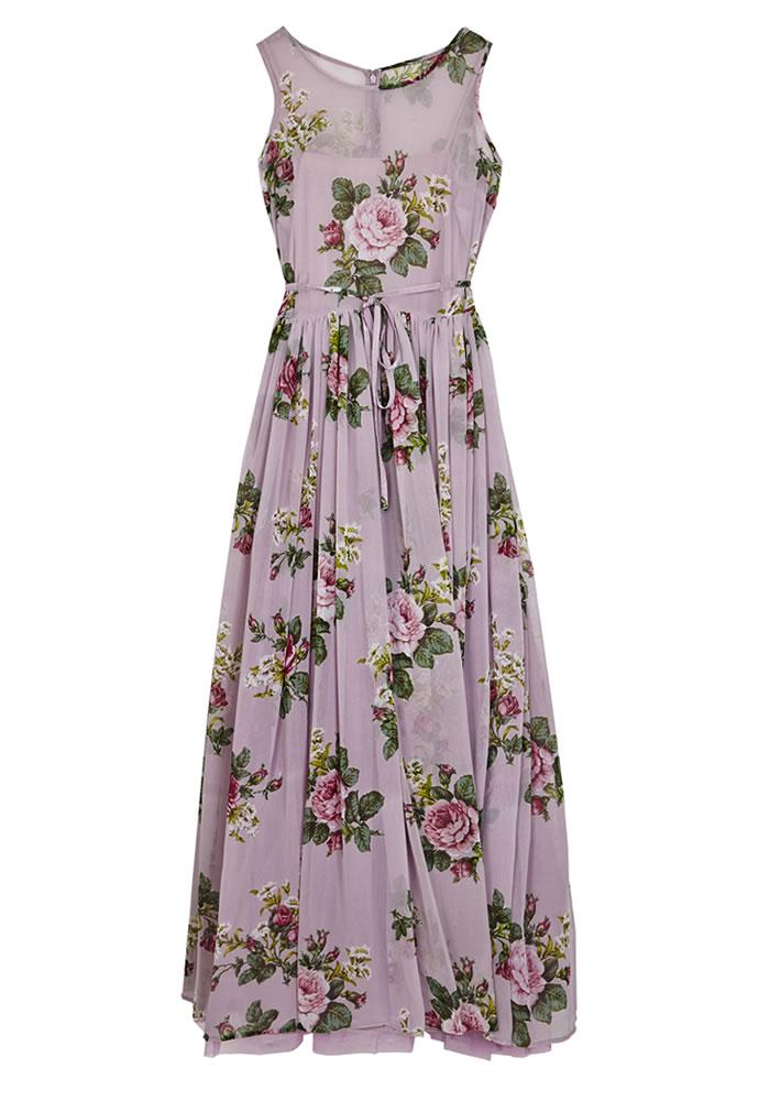 ASOS lilac bridesmaids dress