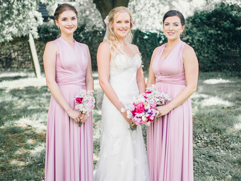 In One Clothing have been able to identify over 6 years of dressing happy bridesmaids, the most popular bridesmaids dress colours that you chose!