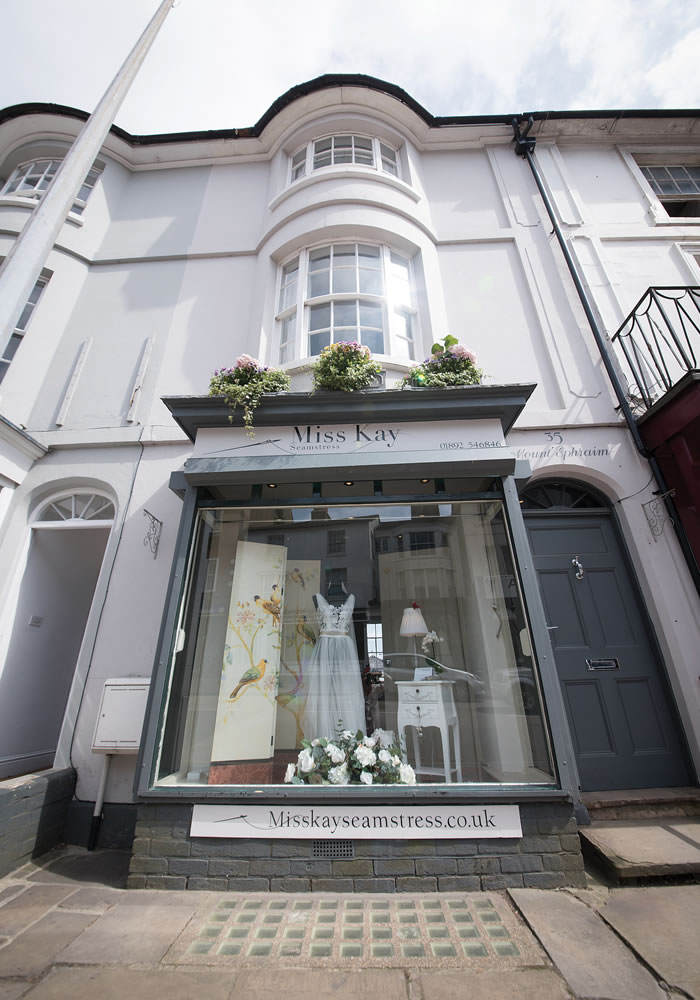 Miss Kay Seamstress are giving one lucky bride the chance to win her bridal alterations worth over £850 at their gorgeous London boutique! Enter here...