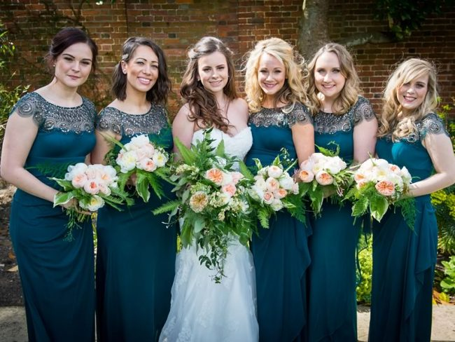 GREEN BRIDESMAIDS Bridesmaid Dresses to Suit Every Shape