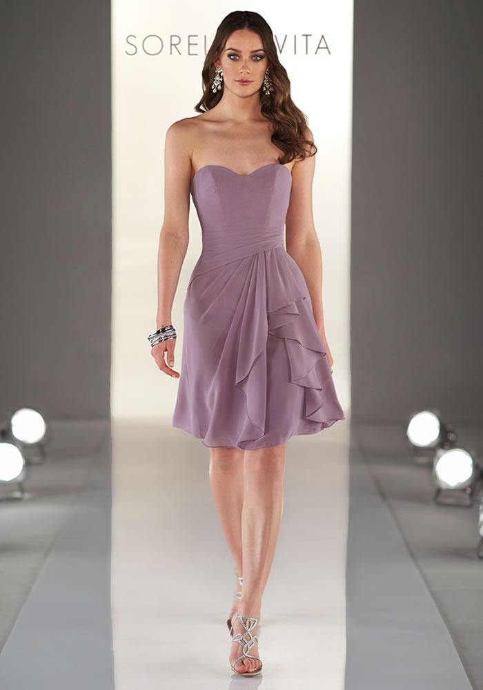 Sorella Vita Mauve bridesmaids dress