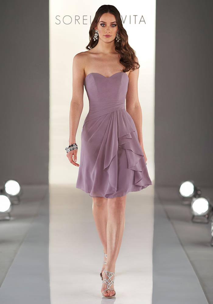 Sorella Vita Mauve bridesmaids dress