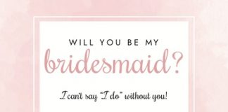 Searching for the perfect way to ask your best girls to be your bridesmaids? Then you'll LOVE these will you be my bridesmaid cards, get yours free today!