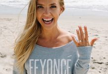 engagement announcement Feyoncé jumper