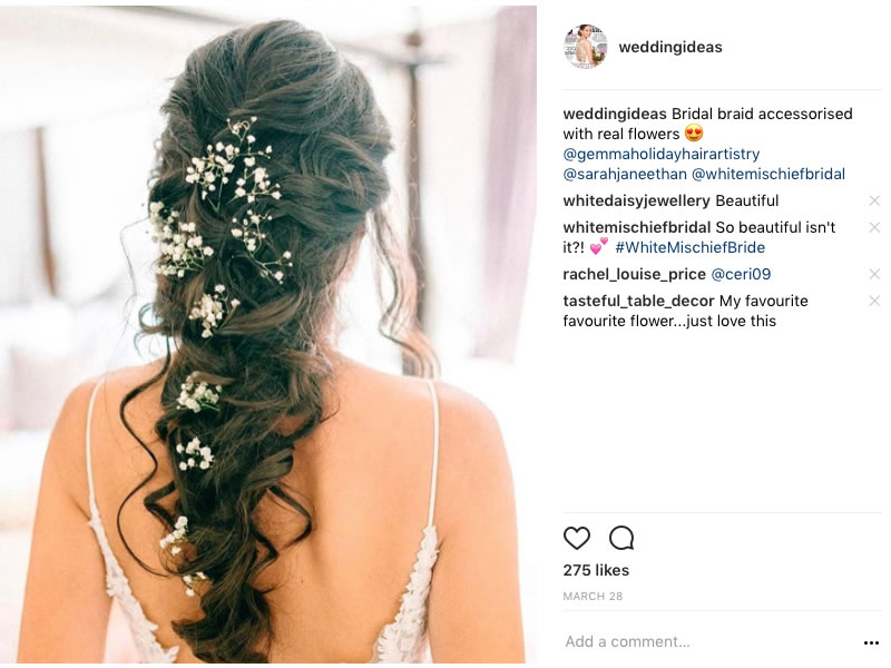 3 Bridal Hair Trends To Love This Year.