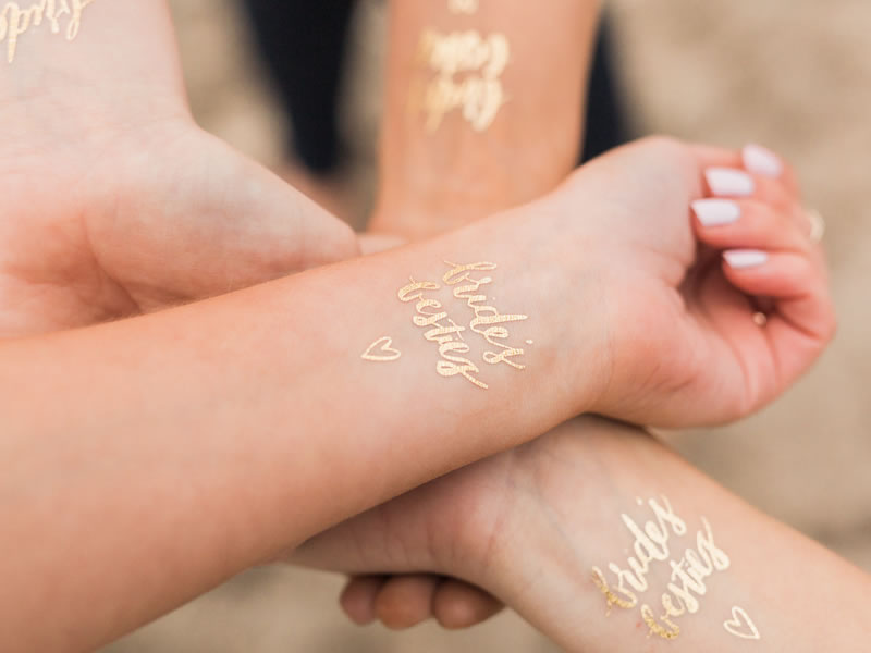 hen party accessories temporary tattoos