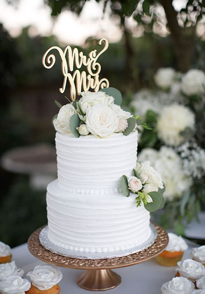 Wedding-worthy Cake Trends: Buttercream