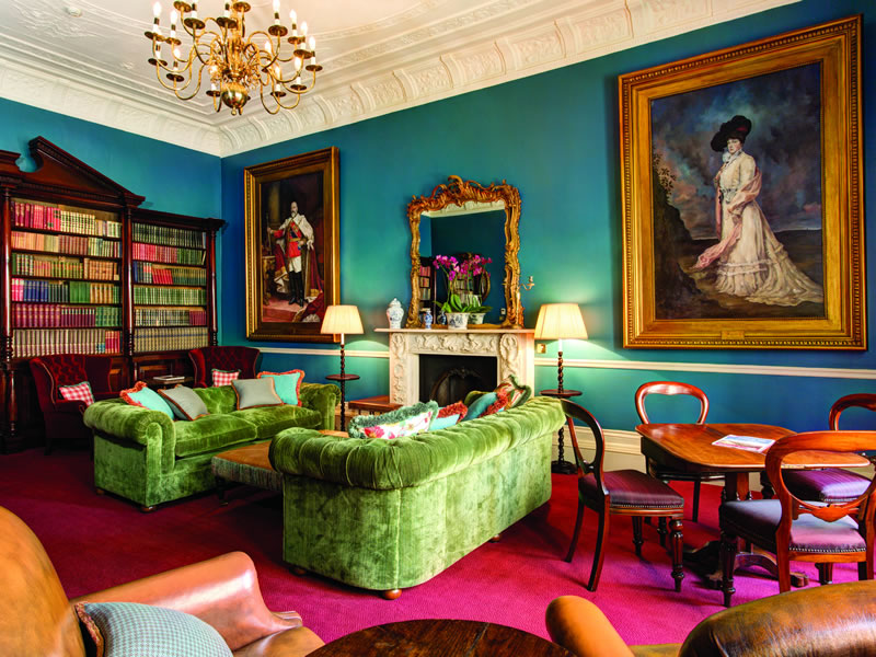 The Gore Hotel Library