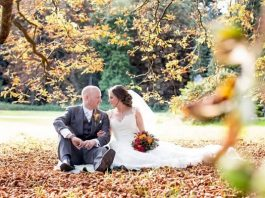 The fallen leaves, rich golds and rusty oranges create the perfect backdrop, so it's no wonder an autumn wedding is becoming the most popular seasons to wed