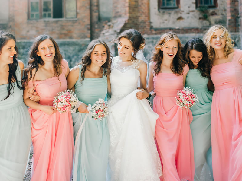 How To Shop For Dresses To Flatter Every Bridesmaid