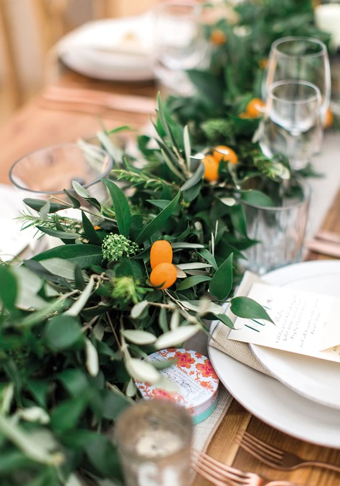 Choosing blooms that are in season is just one way to save on wedding flowers...
