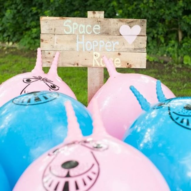 Space hopper race - 31 Budget Hen Party Games and Ideas