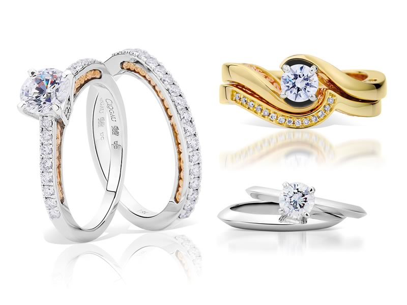 Win Gold Wedding Rings by Clogau