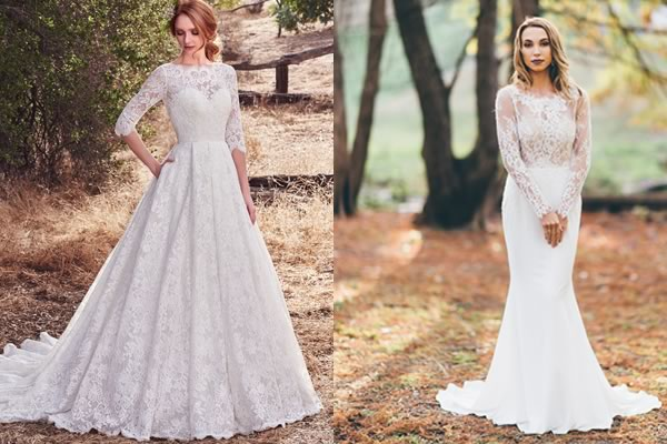13 Autumn Wedding Dresses You\u0027ll Want Right Now!